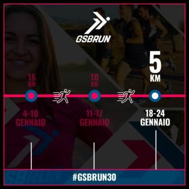 #GSBRUN30 e Vincitori Maratona