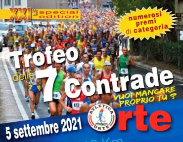 21° Trofeo delle 7 Contrade – di Paolo Fedele