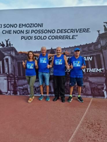 Maratona di Roma 2021 – La Staffetta – di Paolo Fedele